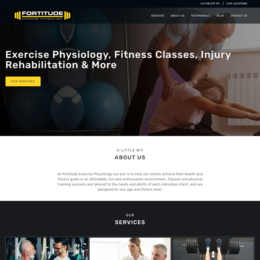 Fortitude Exercise Physiology