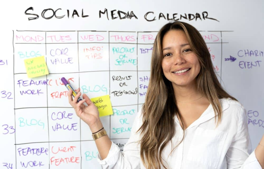 A social media calendar is important for planning your marketing strategy on social media in advance.